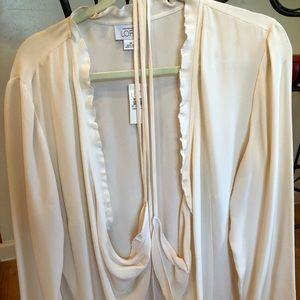 Ann Taylor Loft Silk Blouse